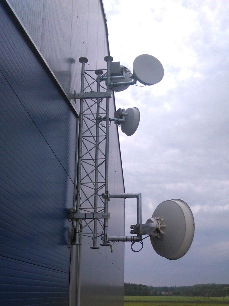 5G síť - profi držáky a stožáry - WFmetal, s.r.o.